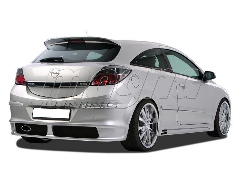 Opel Astra H GTC NewLine Rear Bumper Extension