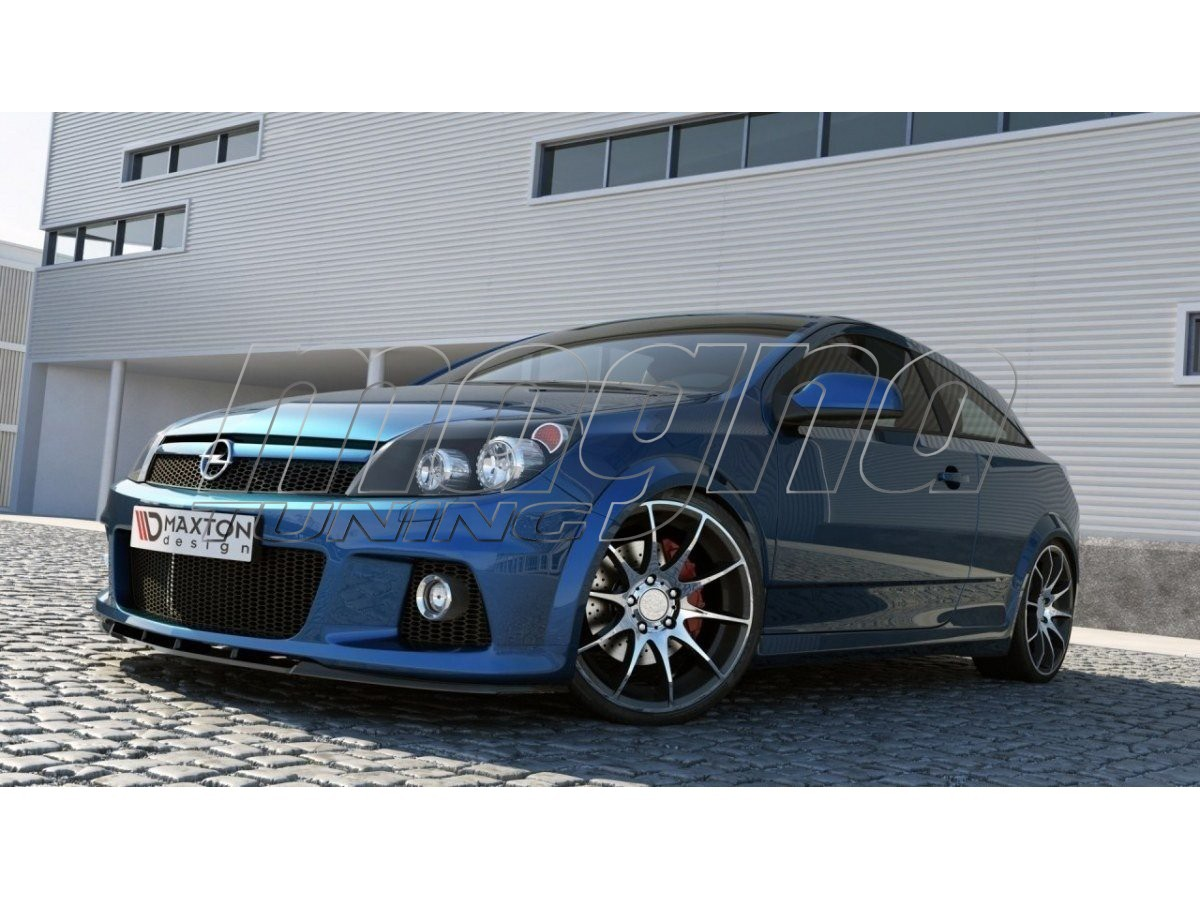 opel astra h gtc opc m2 front bumper extension. Black Bedroom Furniture Sets. Home Design Ideas