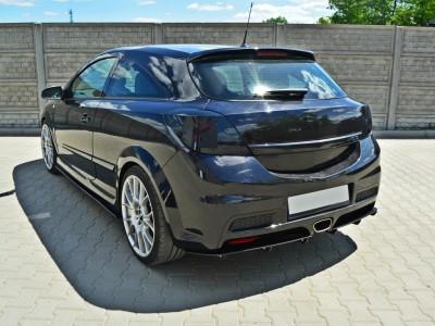 Opel Astra H GTC OPC Matrix Rear Bumper Extension