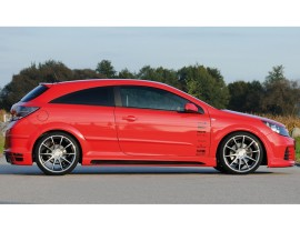 Opel Astra H GTC Recto Side Skirts