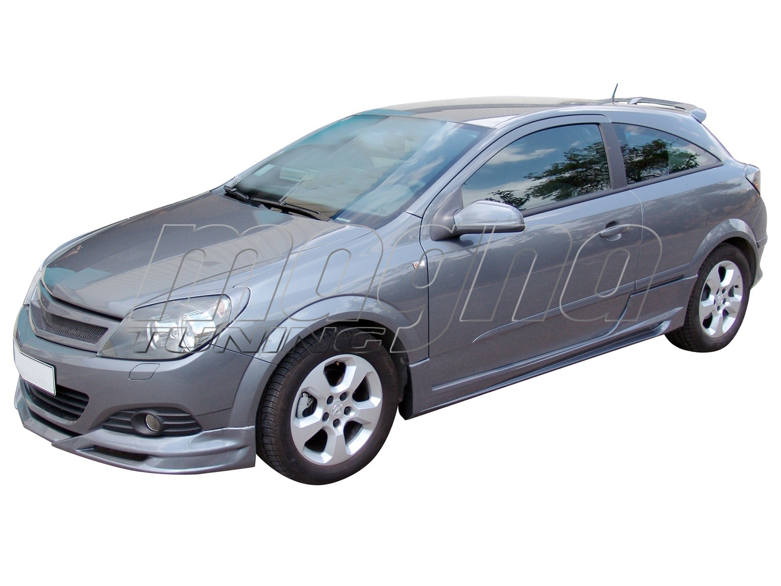 Opel Astra H GTC Speed Side Skirts