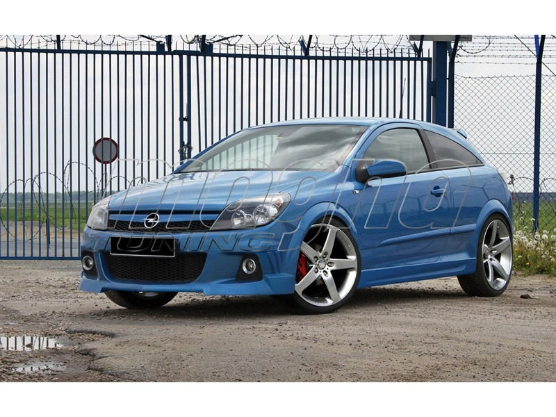 Opel Astra H GTC Strike Side Skirts