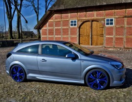 Opel Astra H GTC Thor Side Skirts