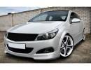 Opel Astra H GTC Vortex Front Bumper Extension
