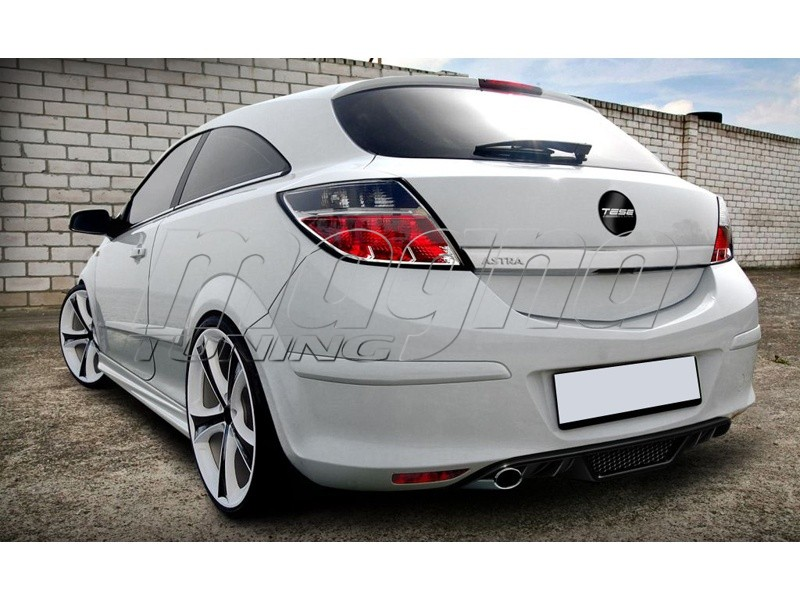 Opel Astra H GTC Vortex Rear Bumper Extension