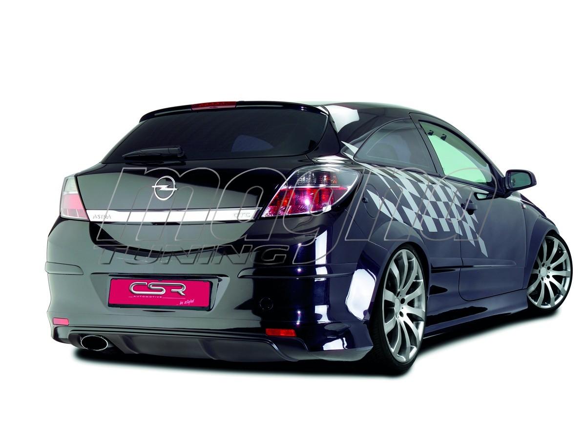 Opel Astra H GTC XL-Line Rear Bumper Extension