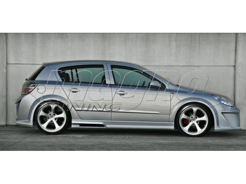 Opel Astra H Hatchback Attack Kuszobok