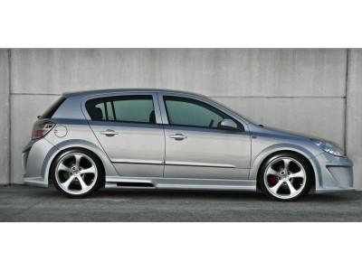 Opel Astra H Hatchback Attack Seitenschwellern