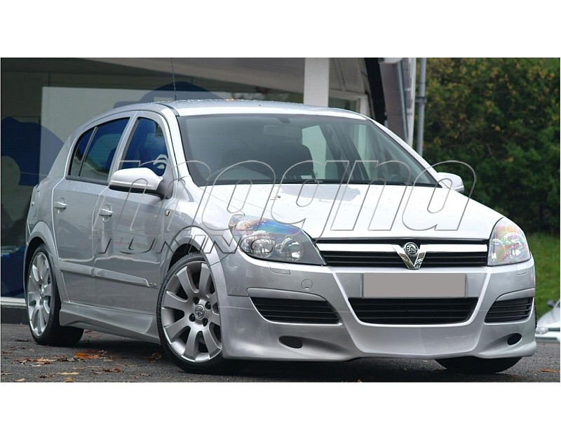 Opel Astra H J-Style Front Bumper Extension