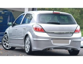 Opel Astra H J-Style Rear Bumper Extension