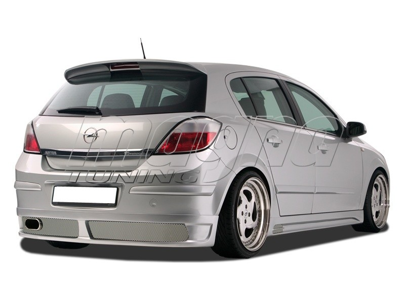 Opel Astra H NewLine Rear Bumper Extension