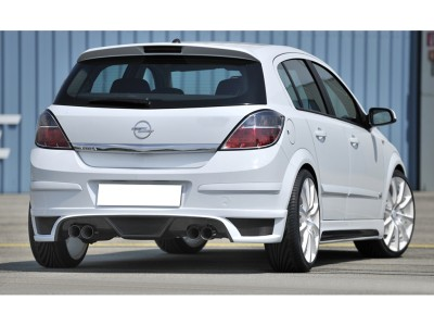 Opel Astra H RX Rear Bumper Extension