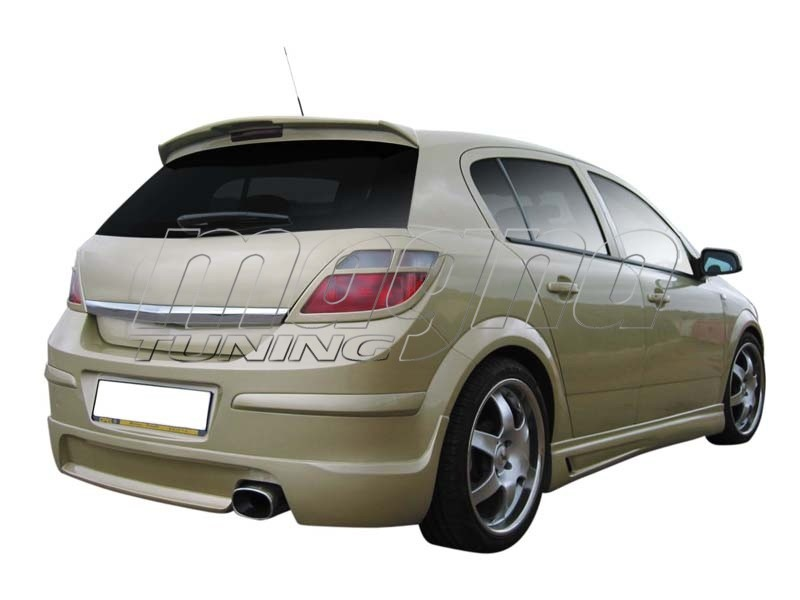Opel Astra H Storm Rear Wing