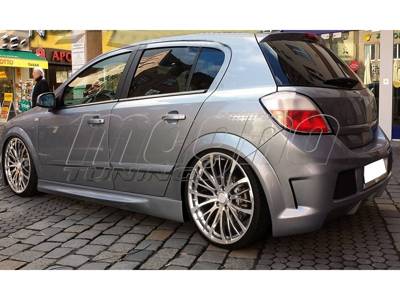Opel Astra H Thor Side Skirts