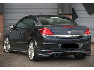Opel Astra H Twin Top J-Style Rear Bumper Extension
