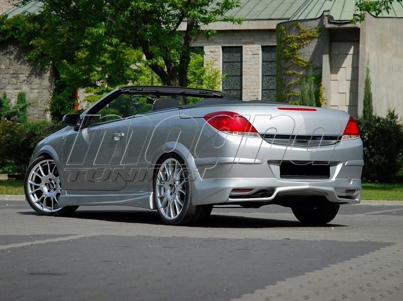 Opel Astra H Twin Top J2 Rear Bumper Extension