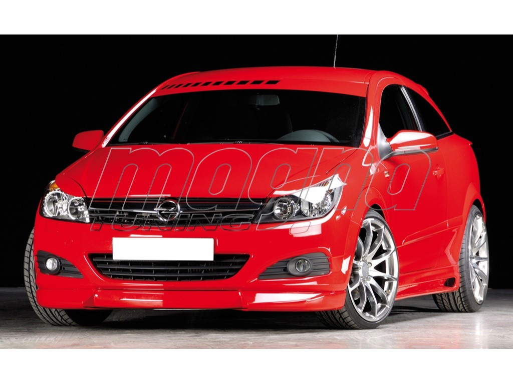 Opel Astra H Twin Top RX Front Bumper Extension