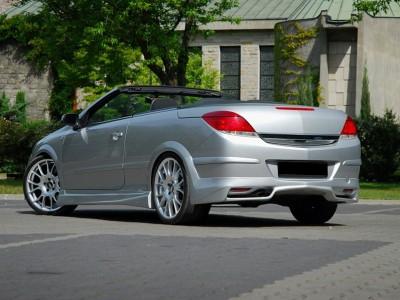 Opel Astra H Twin Top Rear Bumper Extension J2