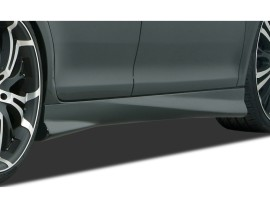 Opel Astra H Twin Top Speed Side Skirts