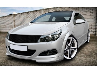 Opel Astra H Twin Top Vortex Front Bumper Extension