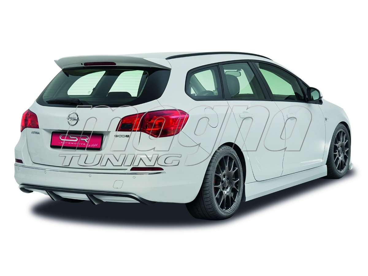 Opel Astra J CX Rear Bumper Extension