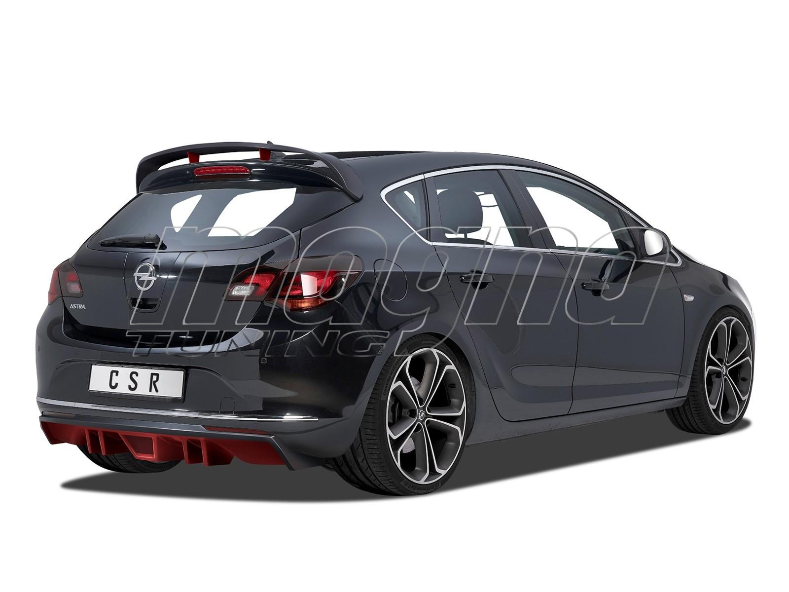 Opel Astra J Cyber Rear Bumper Extension