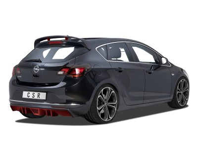 Opel Astra J Cyber Rear Bumper Extension