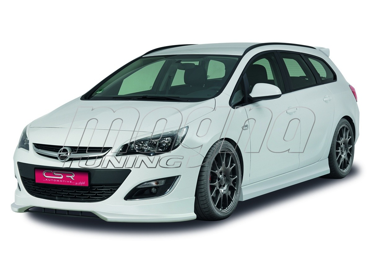 Opel Astra J Facelift CX Front Bumper Extension
