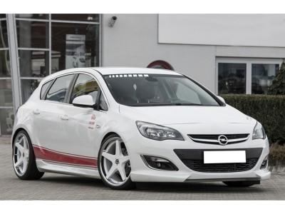 Opel Astra J Facelift Retina Front Bumper Extension
