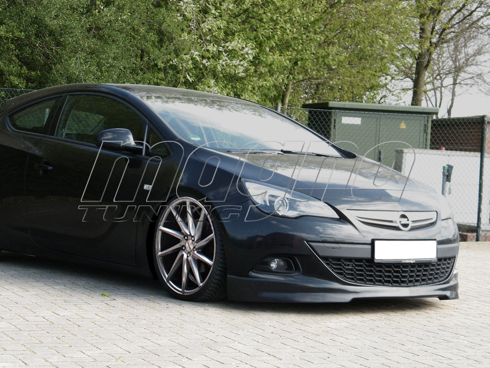Opel Astra J GTC Iris Front Bumper Extension