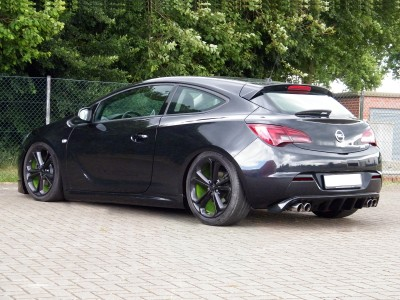 Opel Astra J GTC Iris Heckansatz
