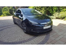 Opel Astra J GTC Meteor Front Bumper Extension