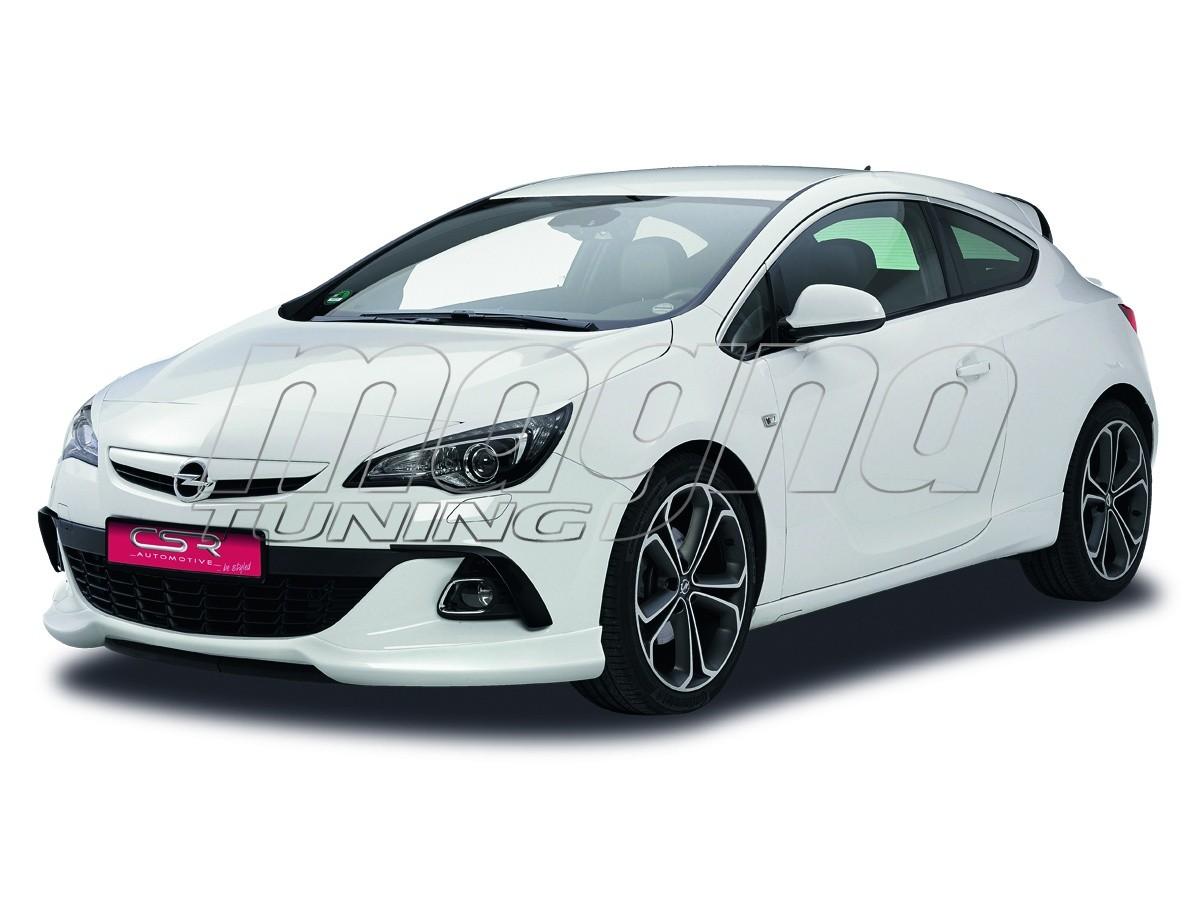 Opel Astra J GTC N2 Front Bumper Extension