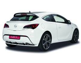 Opel Astra J GTC N2 Rear Bumper Extension