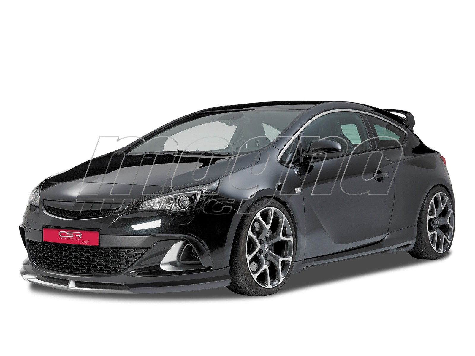 opel astra j gtc opc crono front bumper extension. Black Bedroom Furniture Sets. Home Design Ideas