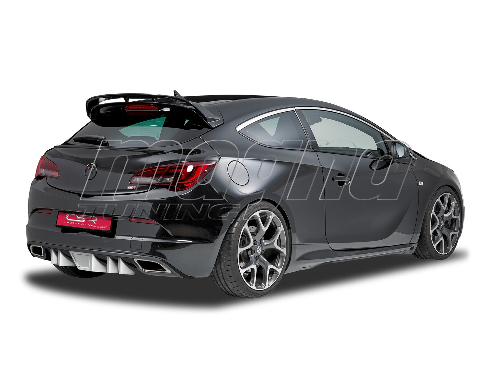 opel astra j gtc opc crono rear bumper extension. Black Bedroom Furniture Sets. Home Design Ideas