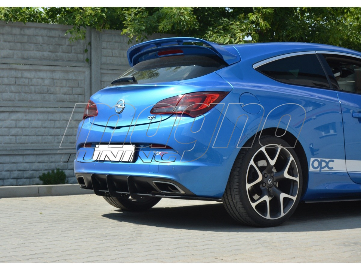 Opel Astra J GTC OPC Matrix Rear Bumper Extension