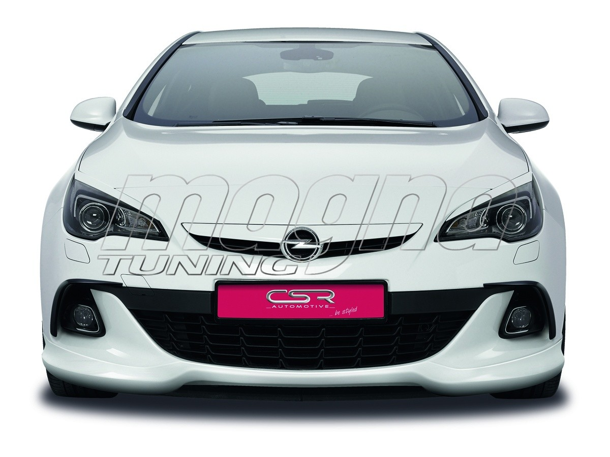 opel astra j gtc opc n2 front bumper extension. Black Bedroom Furniture Sets. Home Design Ideas