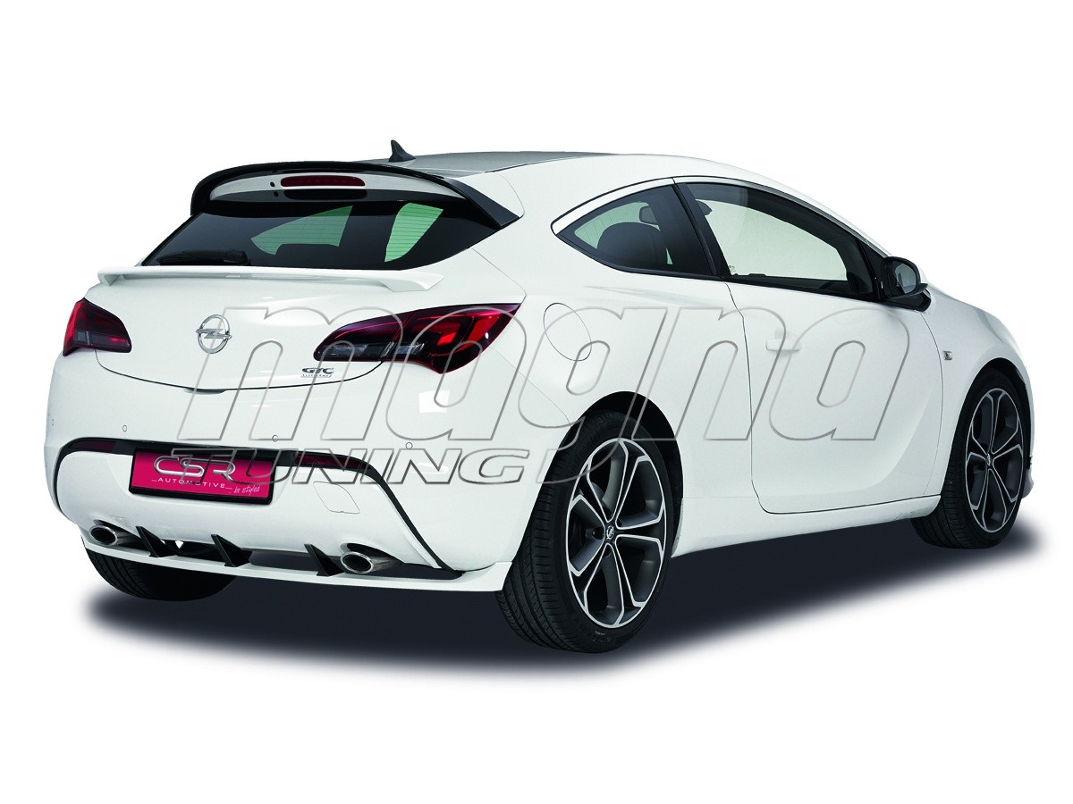 opel astra j gtc opc n2 rear bumper extension. Black Bedroom Furniture Sets. Home Design Ideas