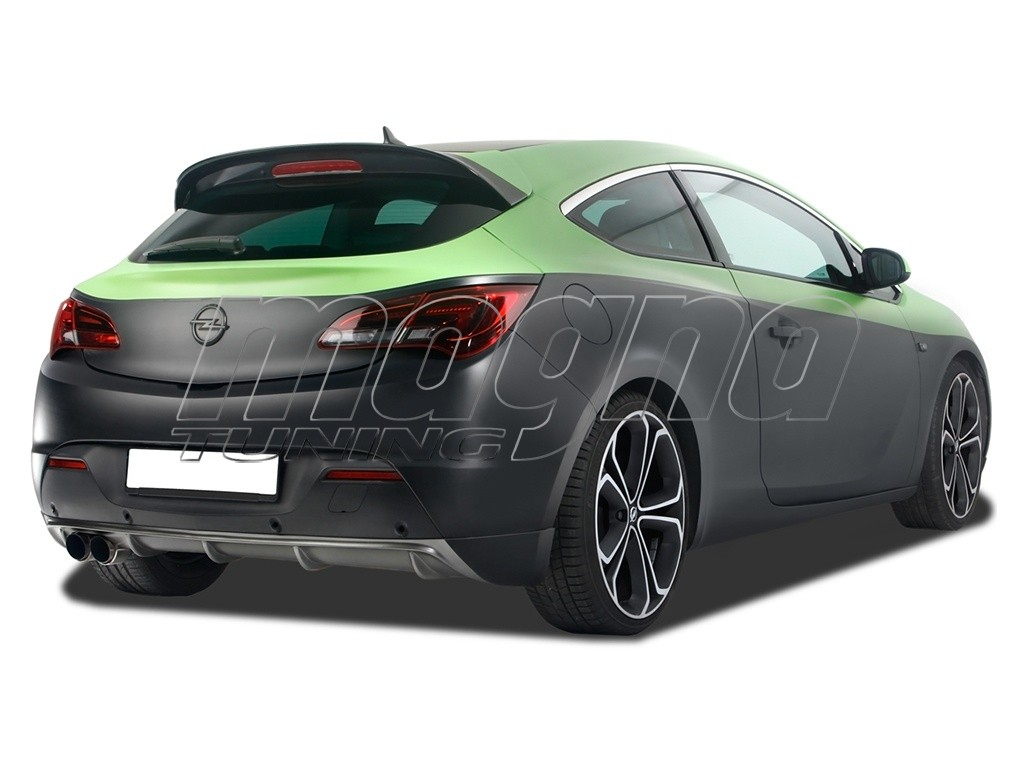 opel astra j gtc rx rear bumper extension. Black Bedroom Furniture Sets. Home Design Ideas