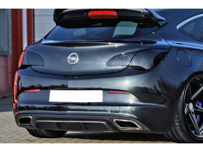 Opel Astra J OPC Invido Rear Bumper Extension