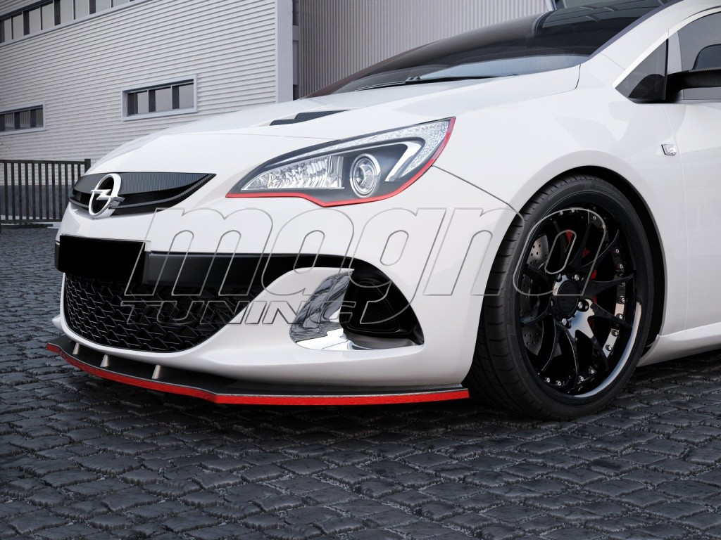 opel astra j opc m2 front bumper extension. Black Bedroom Furniture Sets. Home Design Ideas