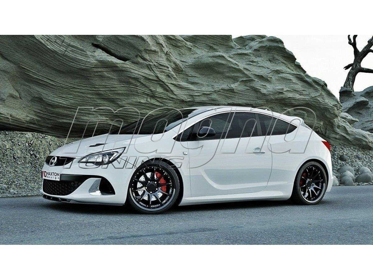 opel astra j opc mt front bumper extension. Black Bedroom Furniture Sets. Home Design Ideas