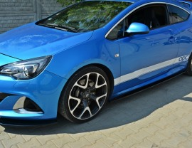 Opel Astra J OPC Matrix Side Skirt Extensions