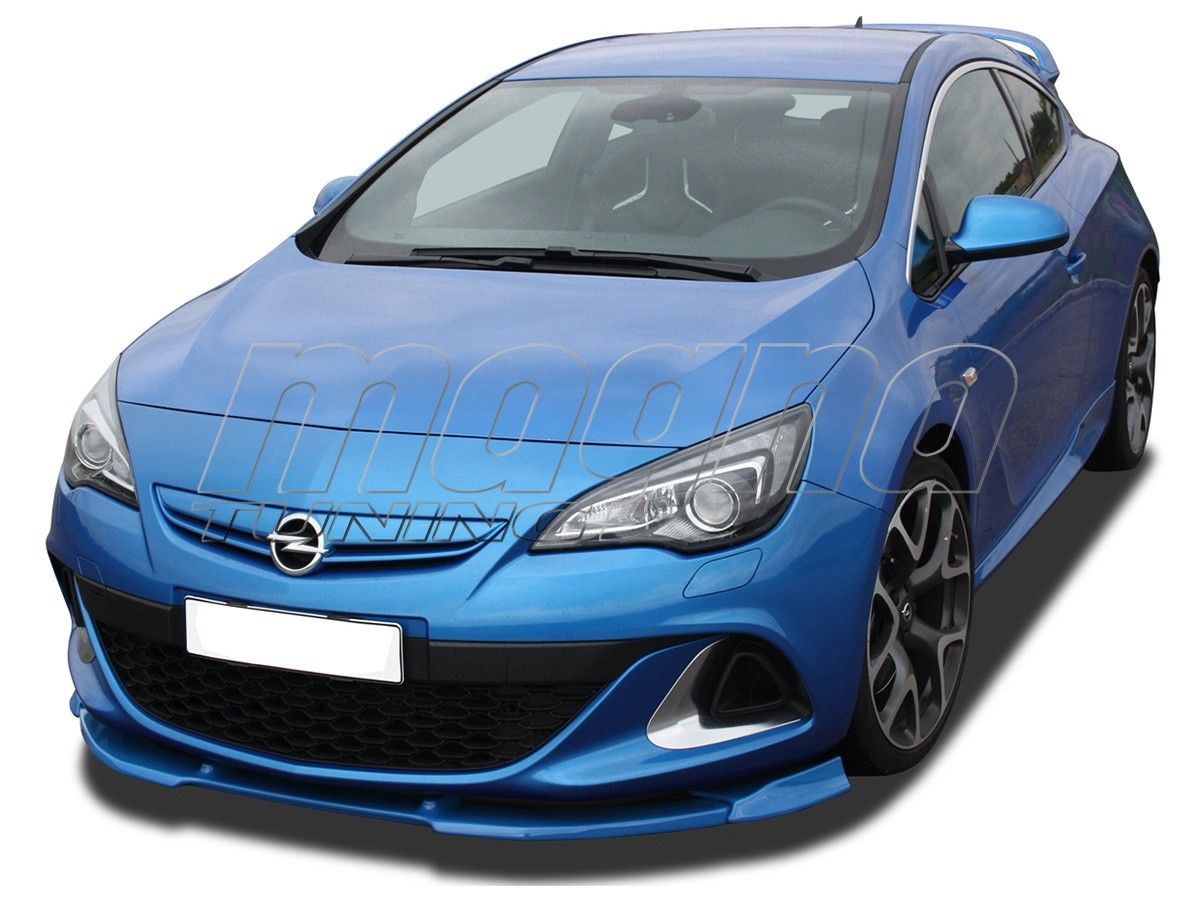 Opel Astra J OPC V3 Front Bumper Extension