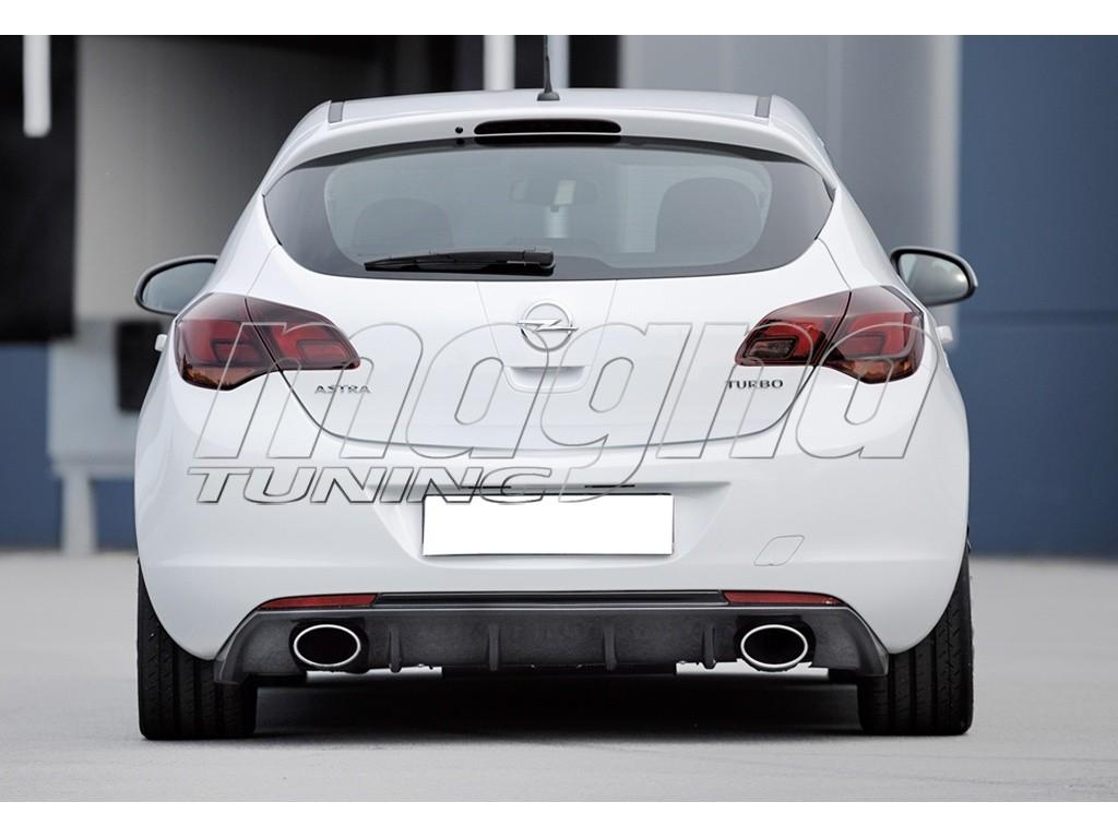 Opel Astra J Recto Rear Bumper Extension Picture