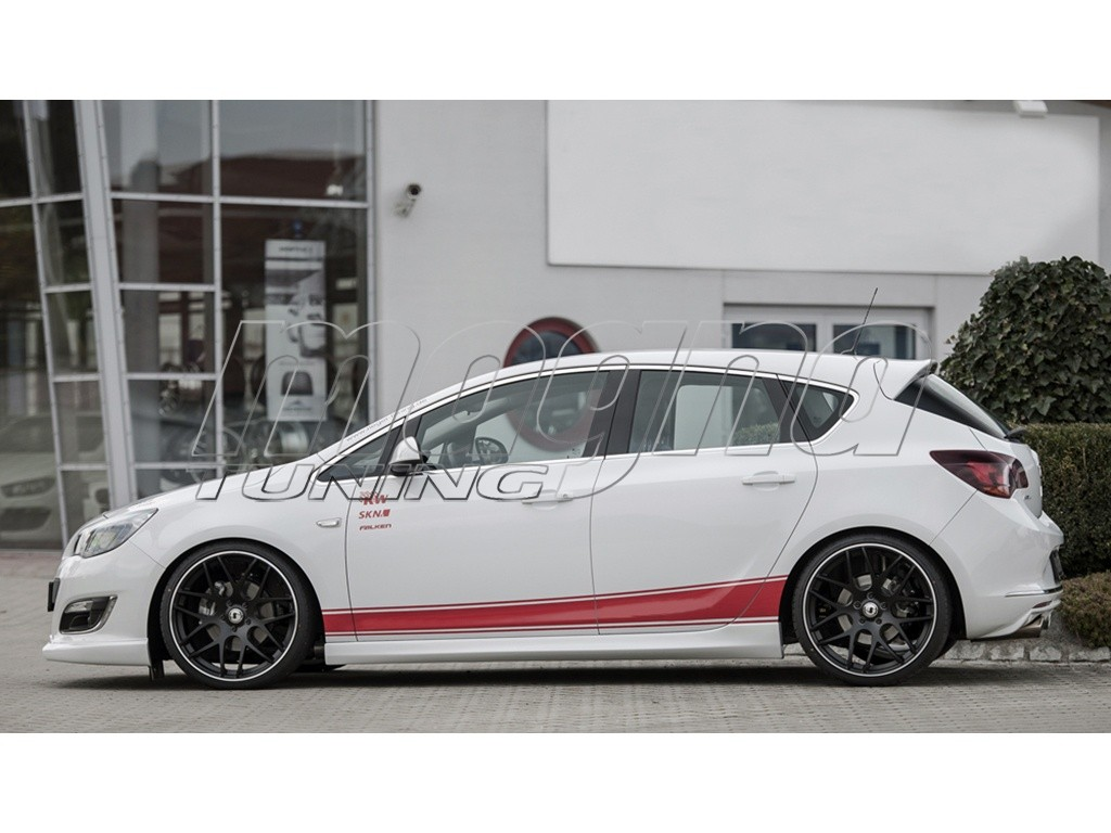 Opel Astra J Retina Side Skirts
