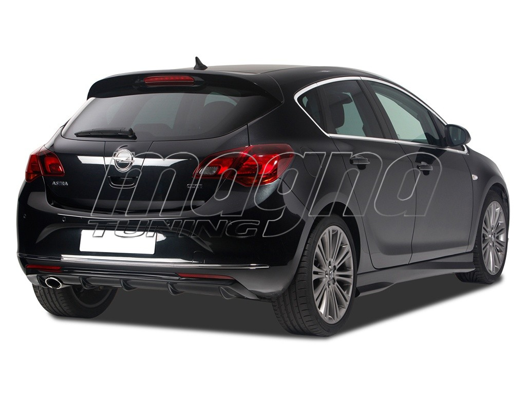 Opel Astra J Veneo Rear Bumper Extension