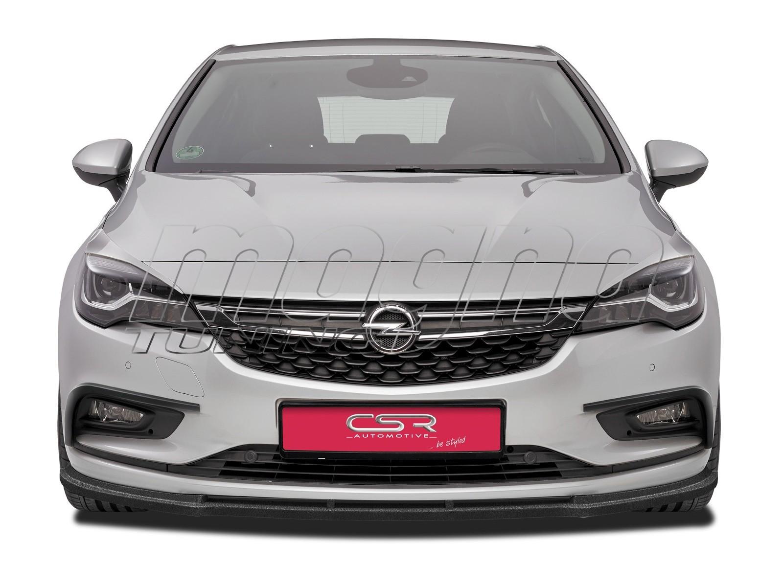 Opel Astra K CX Front Bumper Extension