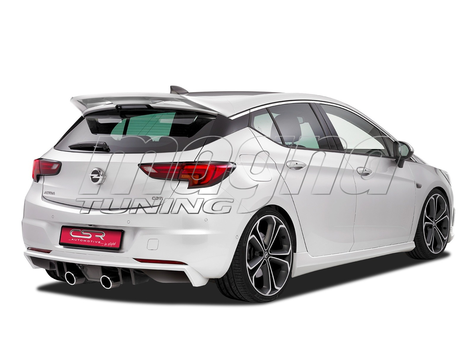 Opel Astra K Crono Rear Wing